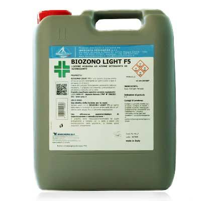 biozono light F5, spray igienizzante per piccoli ambienti