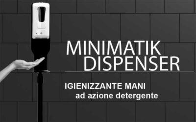 Hands Igienizing Dispenser