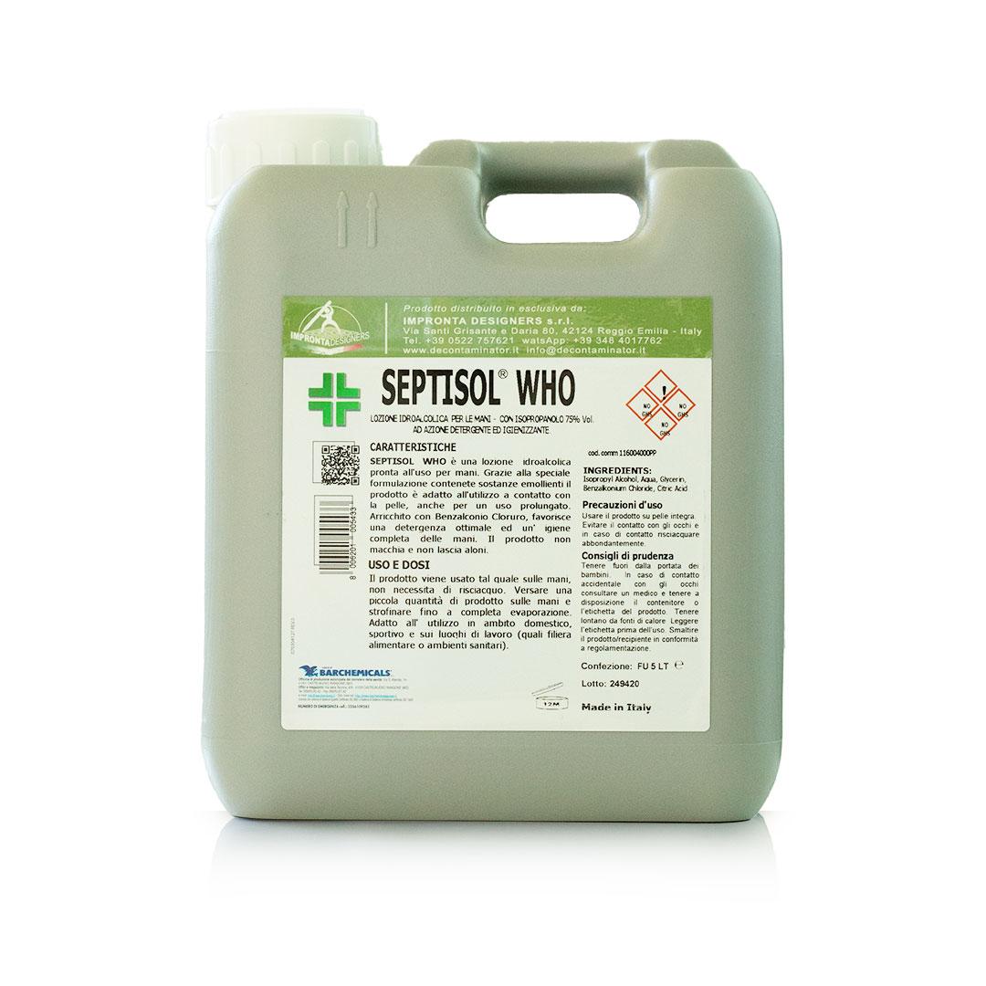septisol-who, benzalconio cloruro