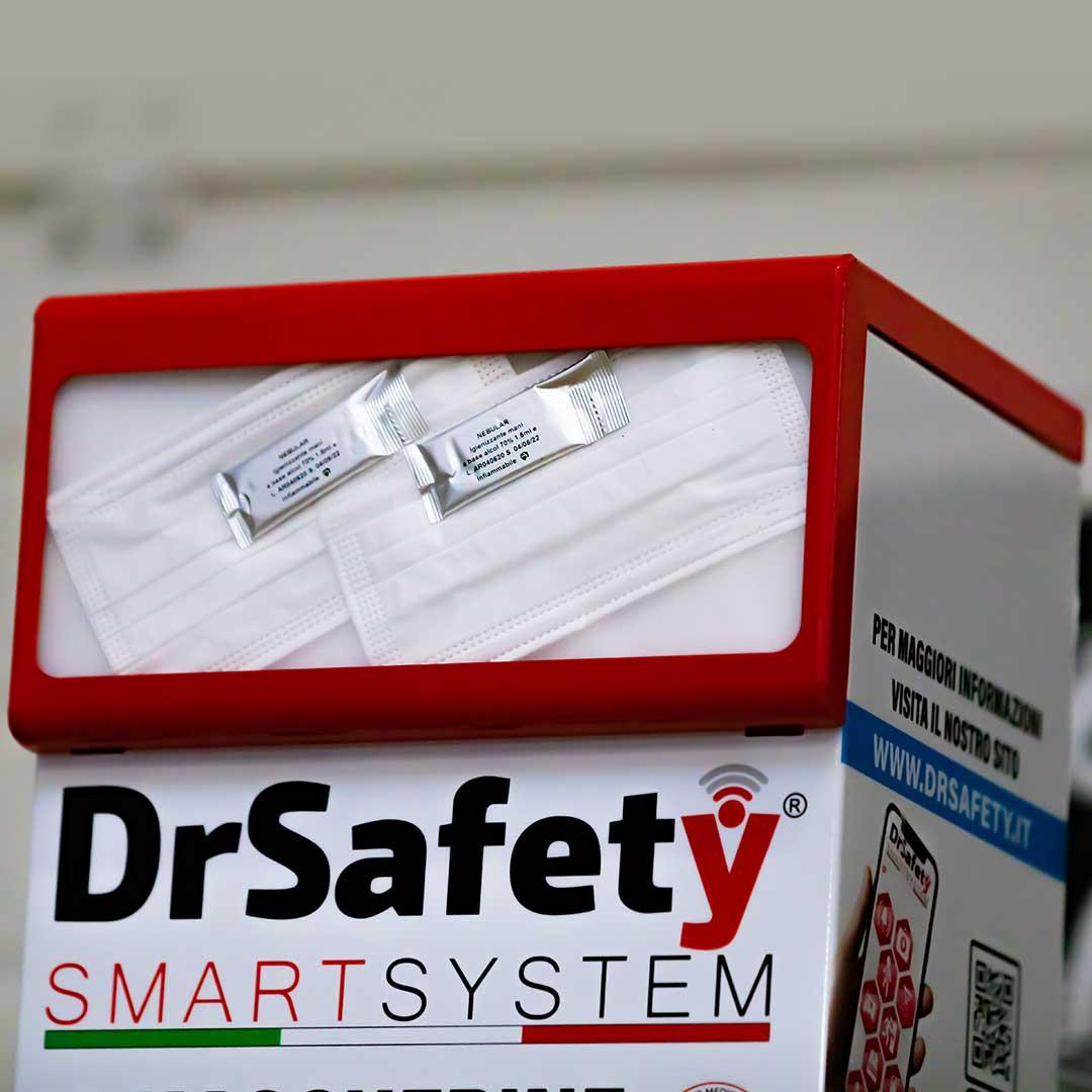 distributore-mascherine-ico, sanificare